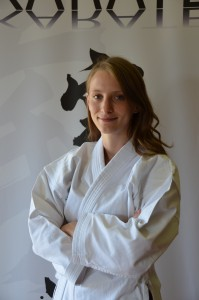 Lucie Souffois, ceinture noire, attestation fédérale d'assistant