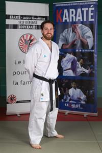 Nicolas Havard, Directeur technique adjoint, ceinture noire 4ème dan, Certificat de qualification professionnelle