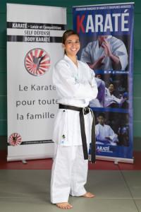 Florence Marchand, ceinture noire 4ème dan, Diplôme d'instructeur fédéral